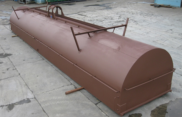 Rail Car Covers - Insulated